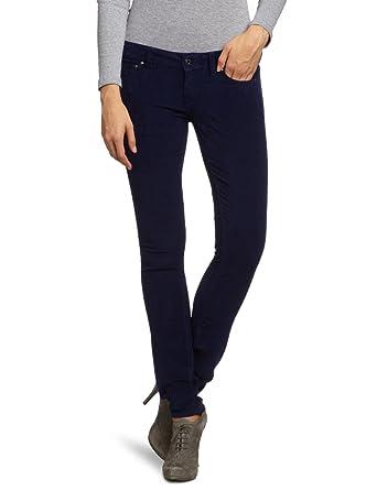 731e21f11a1d0 Ladies Womens Firetrap Evelyn Moleskin Super Skinny Jeans Navy Ink   Amazon.co.uk  Clothing