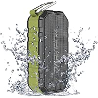 Bluetooth Speakers, Darkiron K6 Wireless Portable Waterproof Outdoor Speaker with Bass Sound Long Play-Time by IPX6 HD Audio Built-in Mic Power Bank for Outdoor Sports Shower & Home
