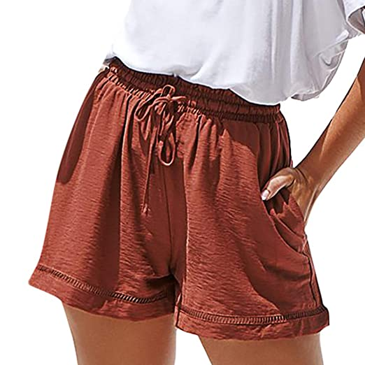 9b4b2caa Amazon.com: Cuekondy Women Girls 2019 Summer Fashion Casual Shorts ...