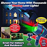 Star Shower Motion Laser Light by BulbHead - Indoor