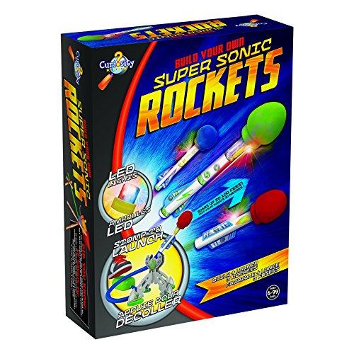 Orb Factory Curiosity Super Sonic Rockets Kit, Super Sonic Rockets