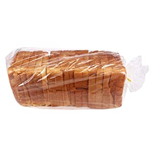 "ZMYBCPACK 200 Pack Bread Loaf Bags (8"" X 4"" X 18"") With 200 Free Twist Ties"