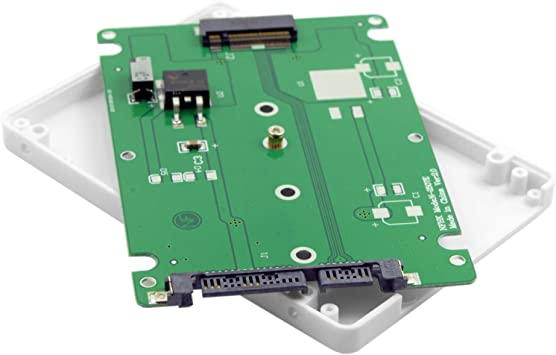 Black B key Socket 2 M.2 NGFF SATA SSD to 2.5 SATA Adapter Card with Case BS