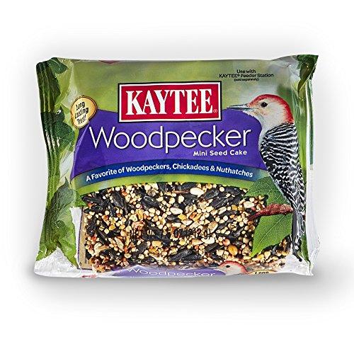Kaytee Woodpecker Mini Cake, 7.5-Ounce (Woodpecker Cake)