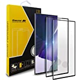 GOBUKEE [2+1] Samsung Galaxy Note 20 Ultra Screen Protector [Full Coverage] Anti Shock Tempered Glass [9H Hardness] for…