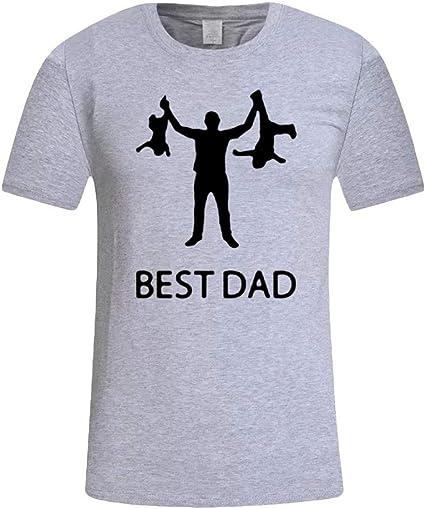 Camisetas Hombre Camisas de Manga Corta con Cuello ...