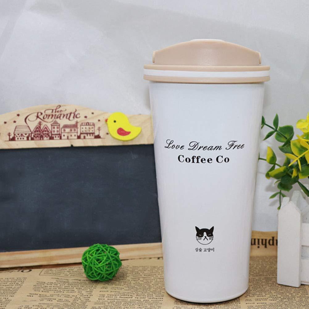 ZQWJ Thermos Tasse Edelstahl Doppelvakuum Kaffeetasse Paar Tassen Tragbare Outdoor Sports Cups B07HH1BPF9 | Sale Outlet