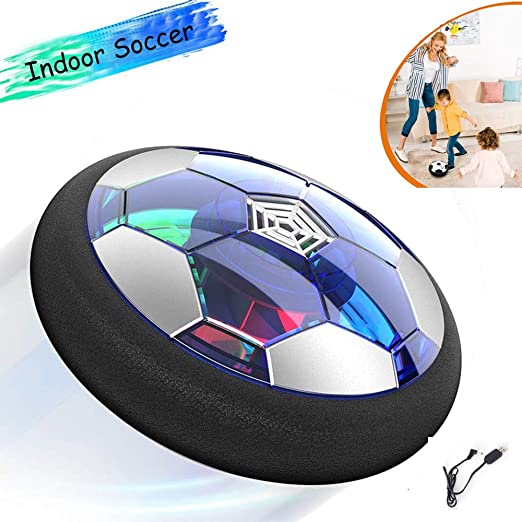 JWTOY Air Power Soccer (FúTbol De Interior) con Luces Led ...