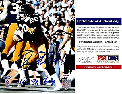 9f6742ffbe5 Rocky Bleier Signed - Autographed Pittsburgh Steelers 8x10 inch Photo with  4x Super Bowl Champs Inscription