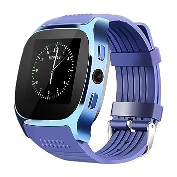 LUCKY ® Nuevo T8 Bluetooth Smart Watches Apoyo SIM & TF Tarjeta Con Cámara Sync Llamar