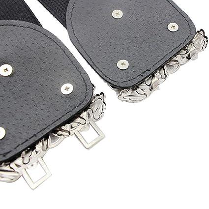 Covermason Nouveau mode accessoires alliage fleur Vintage ceinture ceinture  lanières de cuir pour femmes (Brown)  Amazon.fr  Vêtements et accessoires 083d0dae434