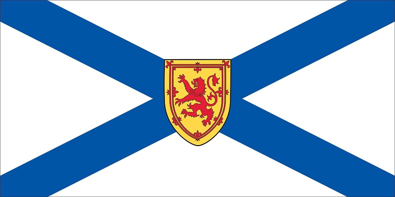 Canada Canadian Province New Brunswick Flag Sticker
