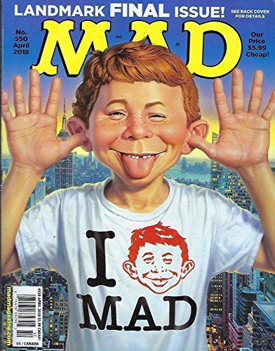 Mad Magazine (April, 2018)