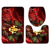 Christmas Happy Santa Toilet D