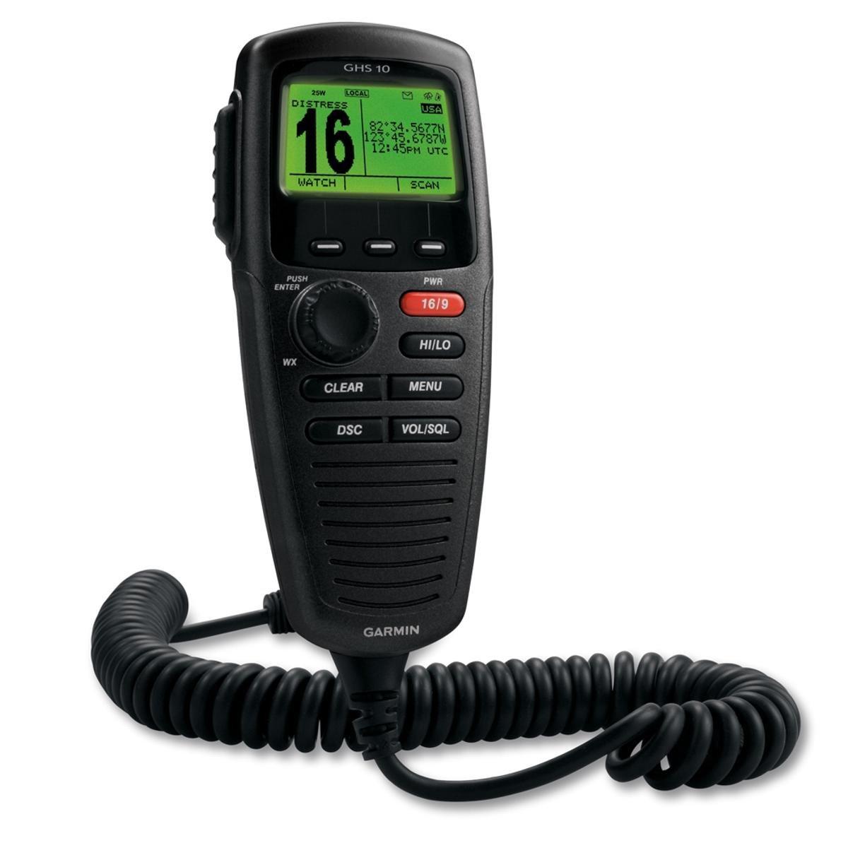 Garmin GHS 10 Wired VHF Handset Speaker microphone black for VHF 200, 300, 300 AIS B0041FKEHE