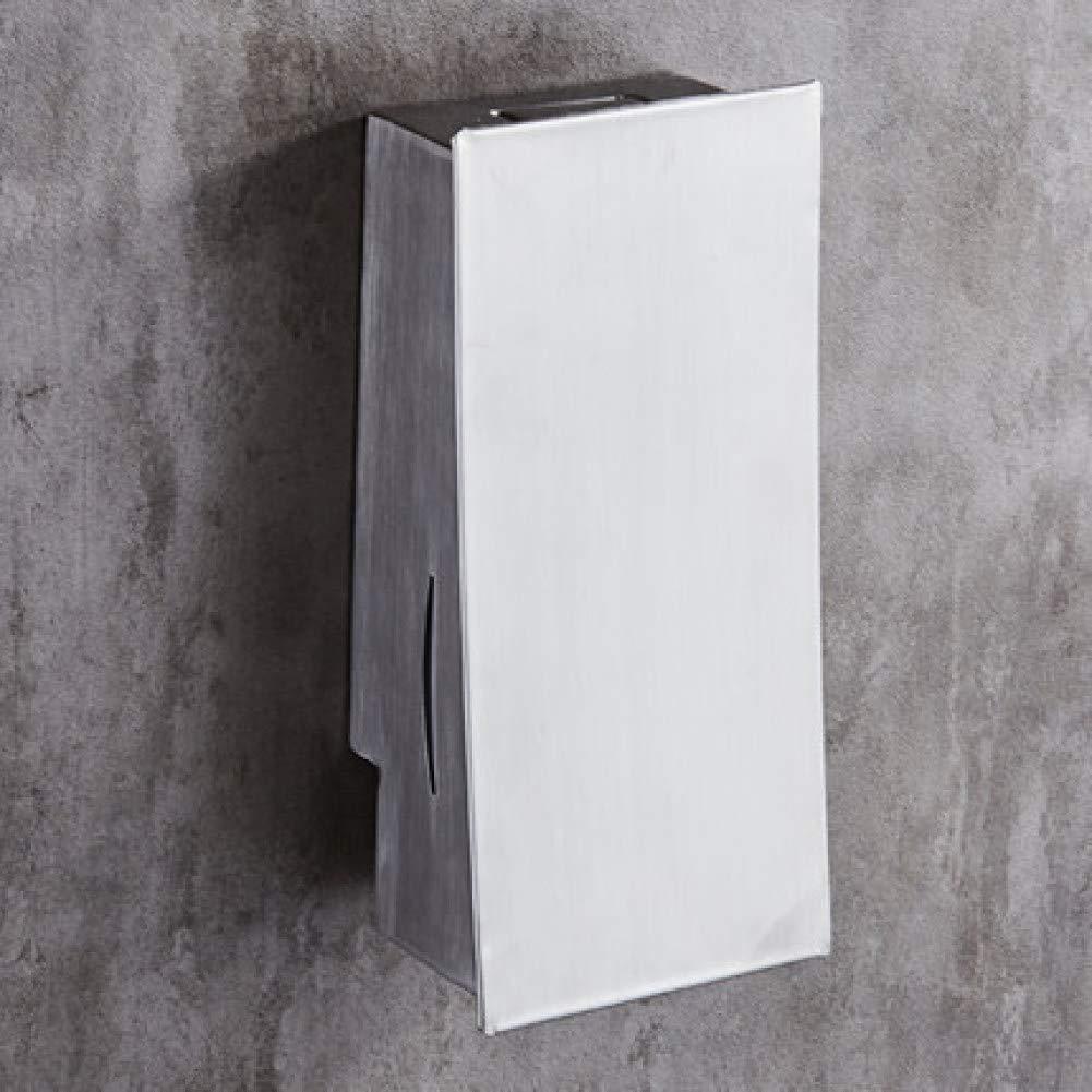 SMQ Distributore di sapone in acciaio inossidabile senza punch distributore di sapone disinfettante hotel hotel portasapone a muro porta gel doccia Distributore di sapone SMQ