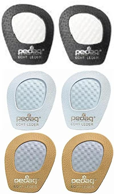Black Leather Pedag Get A Grip Girl Forefoot Pads Pack of 3