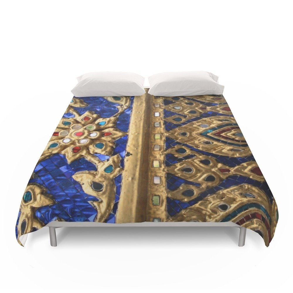 Society6 Thai Royal Walls Duvet Covers Full: 79'' x 79''