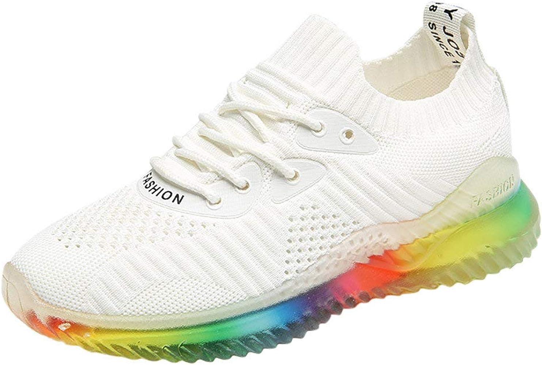 RYTEJFES Zapatilla De Deporte Mujer Sneaker Plano Deportes Zapatos ...