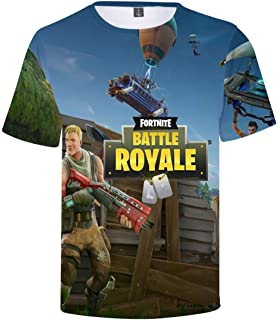 CosplayLife Fnite T-Shirts | Compression Tshirts 3D Print T-Shirt Llama Battle Royal