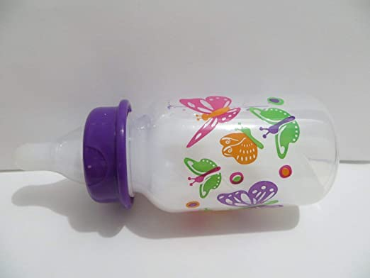 Amazon.com: Reborn muñeca Botella 5oz Fake Leche púrpura ...
