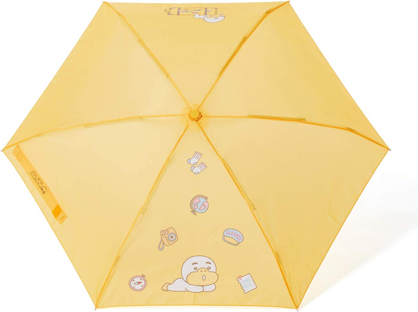 KAKAO FRIENDS Official- Ultra Compact Folding Travel Umbrella with Cover (Tube)