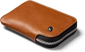 Bellroy Leather Card Pocket Wallet (Max. 15 cards and bills) - Caramel