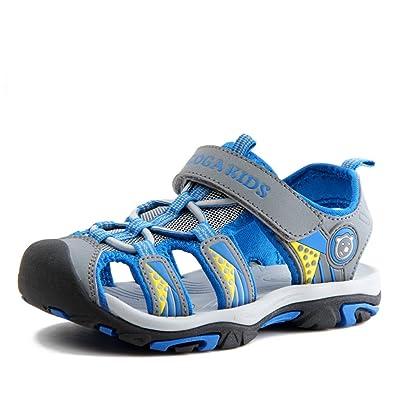 NASONBERG Jungen Sandalen, Kinder Jungen Mädchen Sandalette Schuhe Outdoor Sport Sandalen Klettverschluss Sommer Schuhe 9ri4N