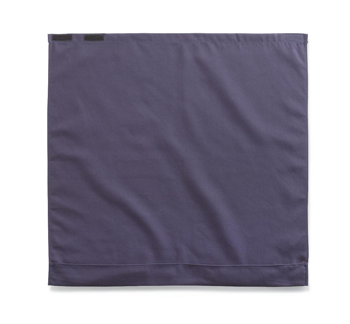 Medline MDT014117NAVY Classic Style Dignity Napkin with Hook-and-Loop Closure, 27.5'' x 27'', Navy Blue (Pack of 24)