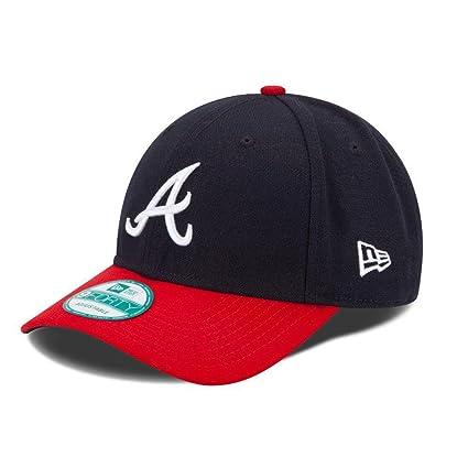 Amazon.com   MLB The League Atlanta Braves Game 9Forty Adjustable ... 706e487cc18e