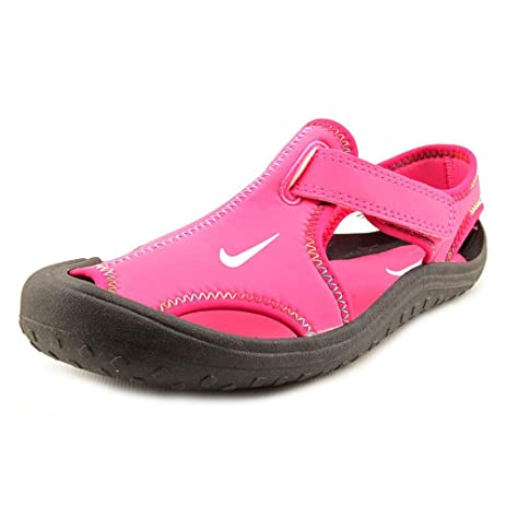 Nike Sunray Protect Youth Girls Size 2 Pink Fisherman Sandals Shoes