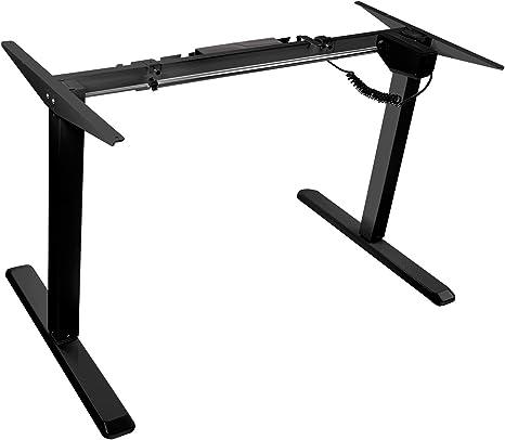 Electric Standing Desk Frame Single Motor Height Adjustable Stand Up Desk Base