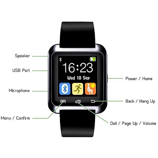 CHEREEKI Smartwatch Bluetooth Smart Watch Reloj Inteligente ...