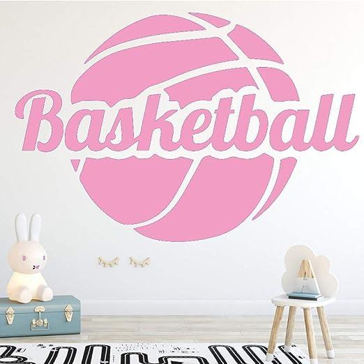 Ajcwhml Diversión Baloncesto Moda Arte Pegatinas de Pared para ...