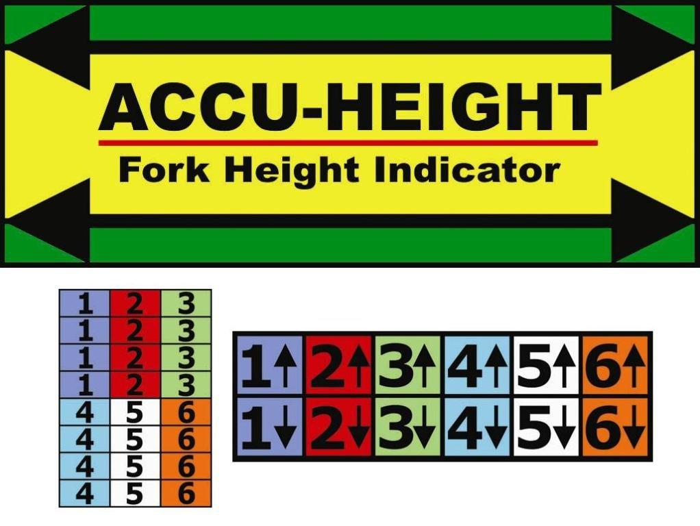 IRONguard 70-1100 Accu-Height Fork Height Indicator