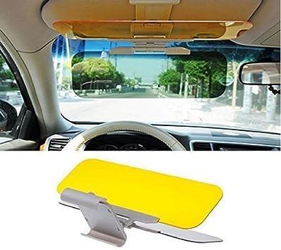 Car Sun Visor Extender for Cars Windshield Visor Extension Day Night Anti Glare Visor Blocker 2 in 1 Hd Vision Night Driving Glasses Visors Universal 2019 Upgraded Car Visor Extender Sun Blocker