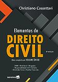 Elementos de Direito Civil  Obra Completa em Volume Único