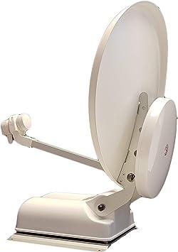 Antena satélite parabólica automática de Doble recepción TNT ...