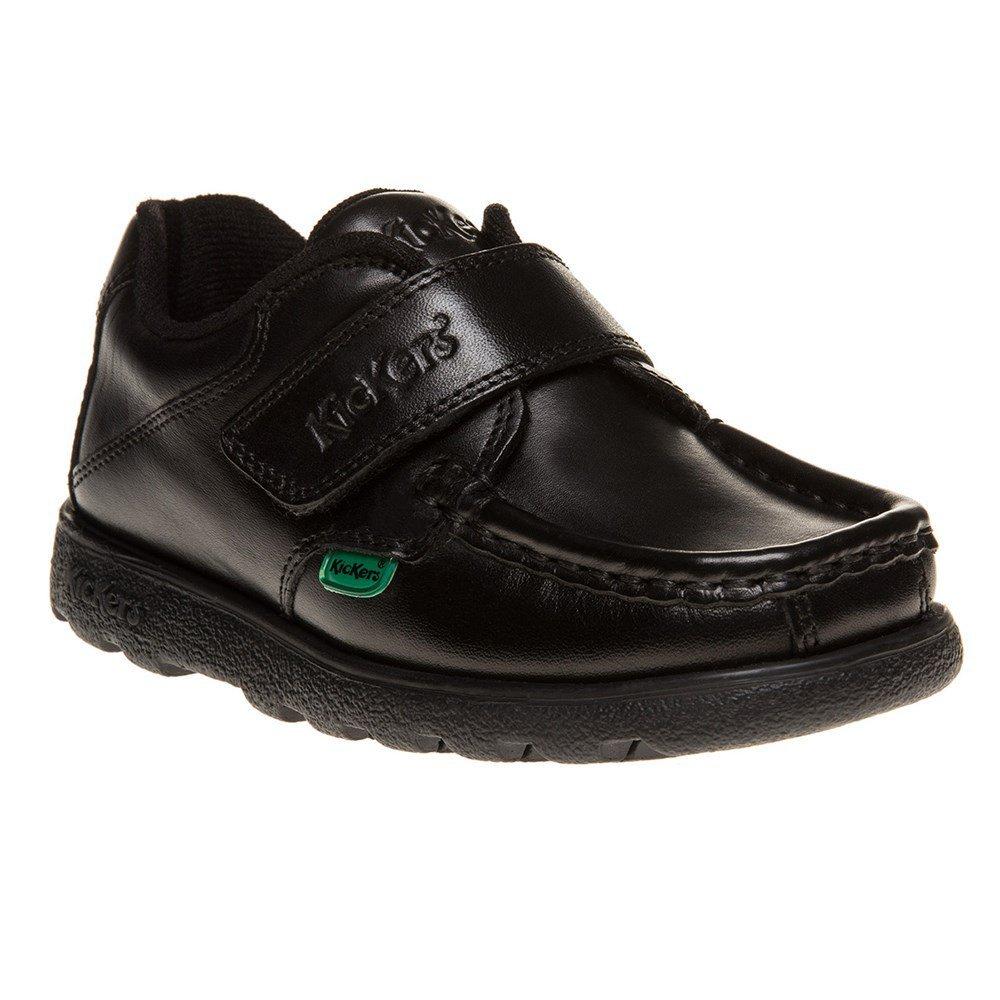 a7d4b70043ebd Kickers Fragma Strap Shoes Black