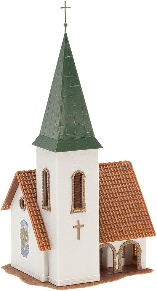 Faller 131372 Dorfkirche 134 x 73 x 228 mm NEUF neuf dans sa boîte église chapelle