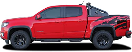 2015-2019 CHEVROLET COLORADO REDLINE VINYL KIT HOOD DECAL STICKER GRAPHIC STRIPE