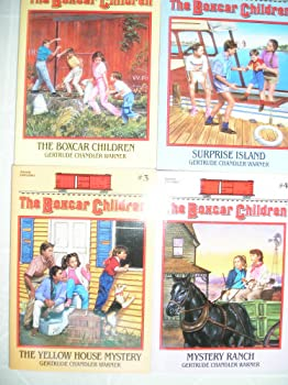 The Boxcar Children (The Boxcar Children, #1-4) 0807508543 Book Cover