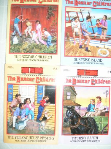 The Boxcar Children (The Boxcar Children, #1-4) - Book  of the Boxcar Children