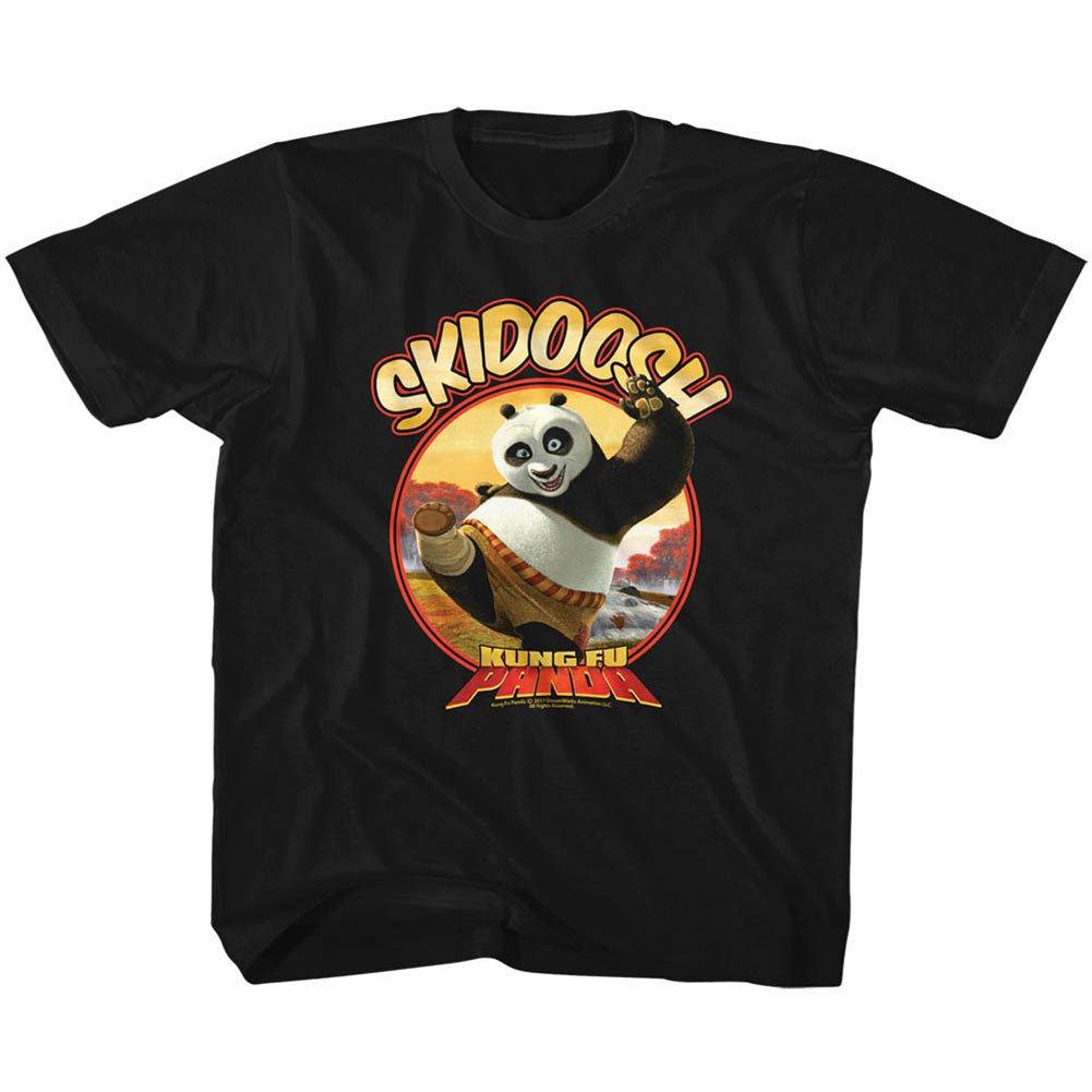 Kung Fu Panda Movie Soosh Black Big Tshirt Tee