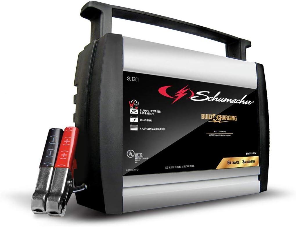 Amazon.com: Cargador automático de baterías Schumacher ...