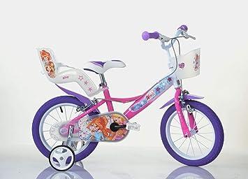 Dino Bikes 144 r-wx7 bicicleta niña – Winx, 14
