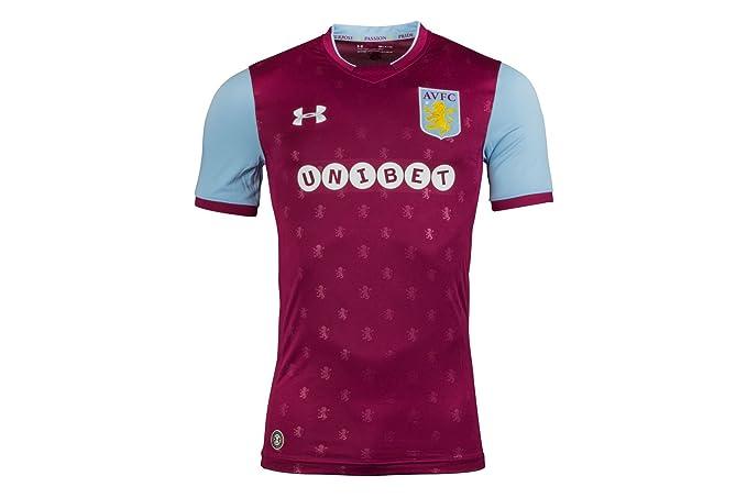f9ae49745 Under Armour Aston Villa 17 18 Home S S Football Shirt - Royal ...