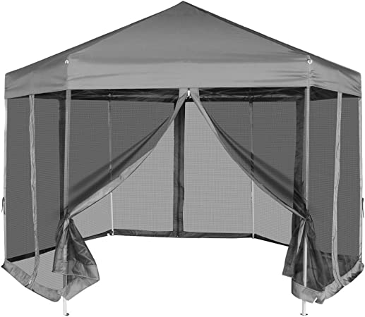 Festnight 1.8 x 1.8 m Outdoor Party Gazebos with Pop Up Tent