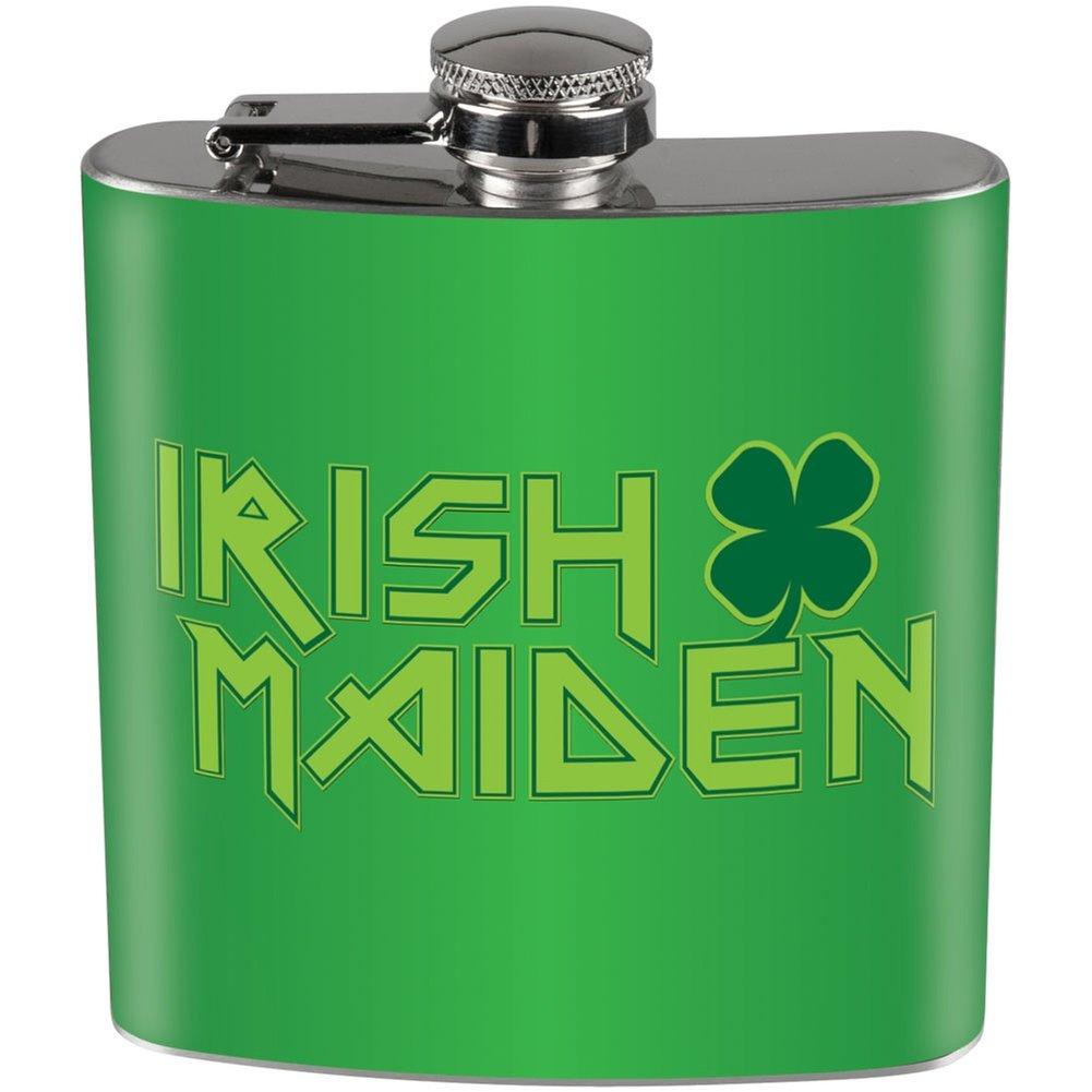 【レビューを書けば送料当店負担】 Irish B01DWLK1TS Maidenフルラップスチールフラスコ Irish B01DWLK1TS, マクセルオンライン:dd8ffb21 --- beautycity.in