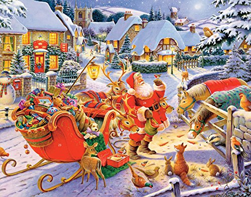Santa & Friends Advent Calendar (Countdown to Christmas)